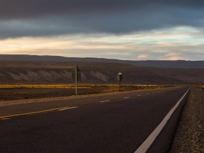 Sunset on Ruta 40.